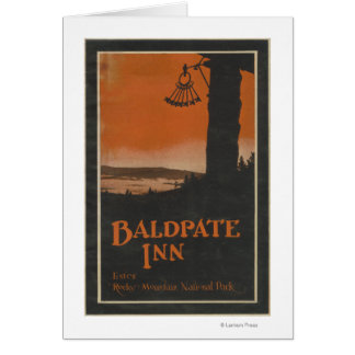 Baldpate Inn Promotional Poster # 2 Card