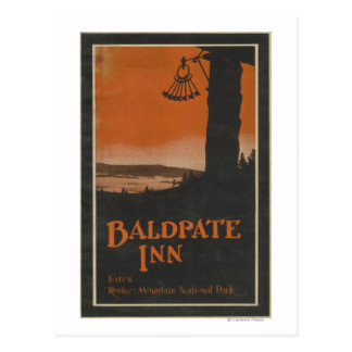 Baldpate Inn Promotional Poster # 2 Postcard