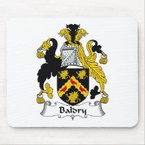 Baldry Family Crest Mousepad