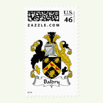 Baldry Family Crest Stamps