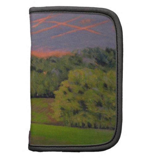Balducci Sunset Oil Landscape Painting Planners