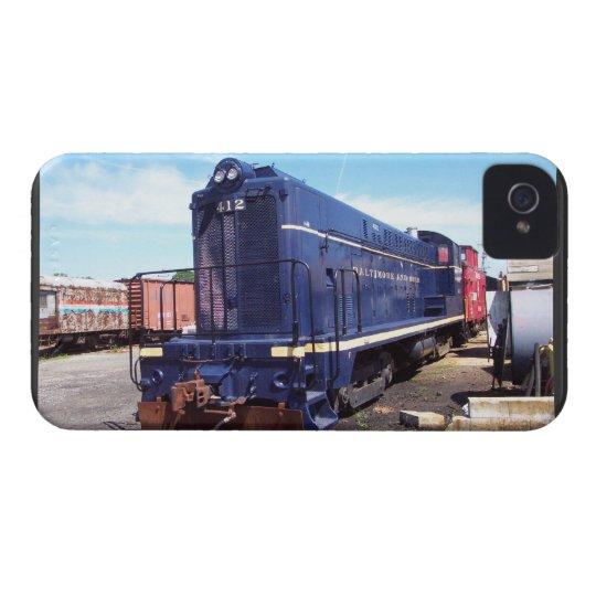 Baldwin B&O Locomotive #412 iPhone 4 Case