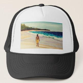Baldwin Beach Paia Maui Trucker Hat