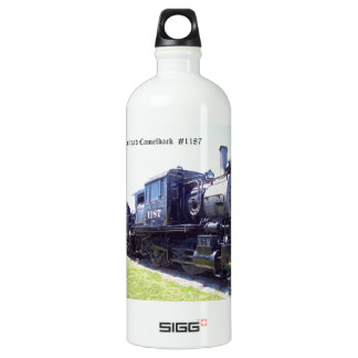 Baldwin Built Reading Railroad Camelback  #1187 Aluminum Water Bottle