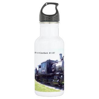 Baldwin Built Reading Railroad Camelback  #1187 Water Bottle
