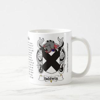 Baldwin Coat of Arm mug