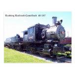 Baldwin construyó el Camelback #1187 del ferrocarr Tarjetas Postales