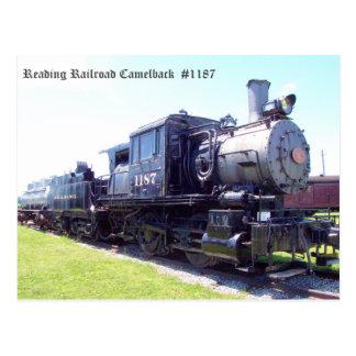 Baldwin construyó el Camelback #1187 del Postales