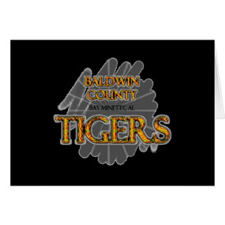 Baldwin County High School Tigers Bay Minette, AL Card