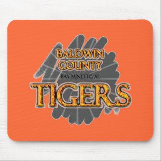 Baldwin County High School Tigers Bay Minette, AL Mouse Pad