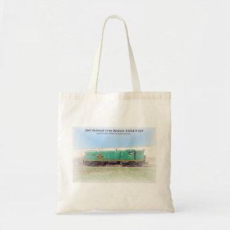 Baldwin Diesel  AS616  # 554  SMS Railroad Lines Tote Bag