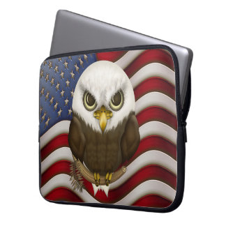 Baldwin Eagle calvo lindo Funda Portátil