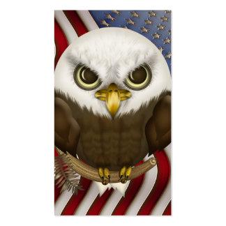 Baldwin Eagle calvo lindo personalizado Tarjetas De Visita