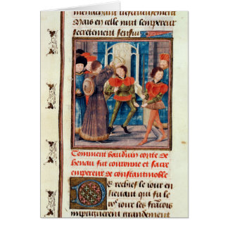 Baldwin I  Sixth Count of Hainaut crowned Card