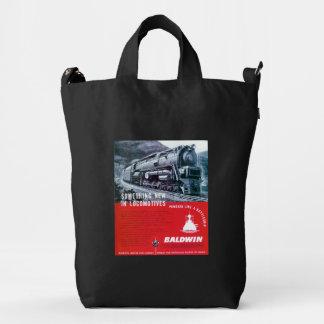 Baldwin Locomotive S-2 PRR Steam Turbine Duck Bag