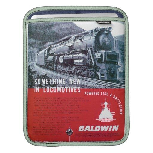 Baldwin Locomotive S-2 PRR Steam Turbine iPad Sleeve