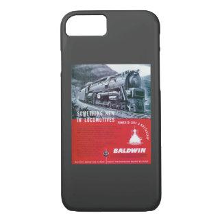 Baldwin Locomotive S-2 PRR Steam Turbine iPhone 8/7 Case