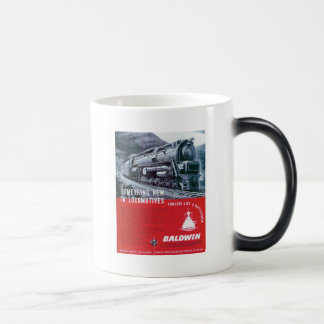 Baldwin Locomotive S-2 PRR Steam Turbine Magic Mug