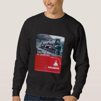 Baldwin Locomotive S-2 PRR Steam Turbine Sweatshirt