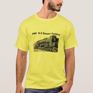 Baldwin Locomotive S-2 PRR Steam Turbine T-Shirt