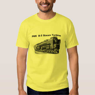 Baldwin Locomotive S-2 PRR Steam Turbine Tee Shirt