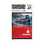 Baldwin Locomotive S-2 Steam Turbine Locomotive Postage Stamp