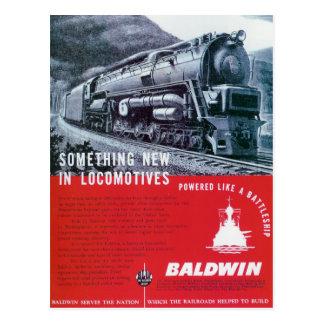Baldwin Locomotive  S-2 Steam Turbine Locomotive Postcard