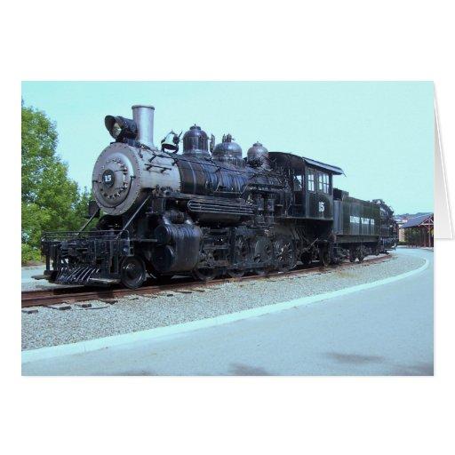 Baldwin Locomotive Works # 15 - Rahway Valley RR Card