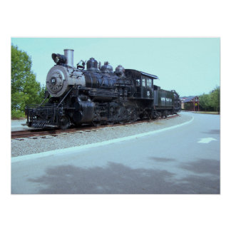 Baldwin Locomotive Works # 15 - Rahway Valley RR Poster