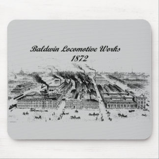 Baldwin Locomotive Works  1872 Mouse Pad