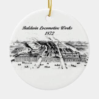 Baldwin Locomotive Works  1872 Ornament