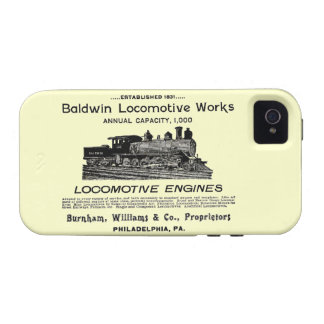 Baldwin Locomotive Works 1895 iPhone 4/4S Case