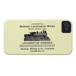 Baldwin Locomotive Works 1895 iPhone 4 Cases