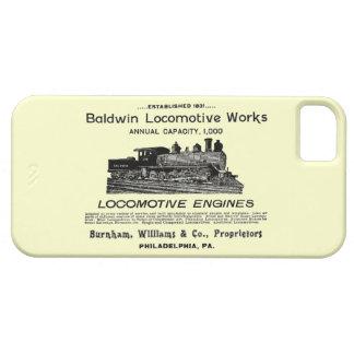 Baldwin Locomotive Works 1895 iPhone 5 Covers
