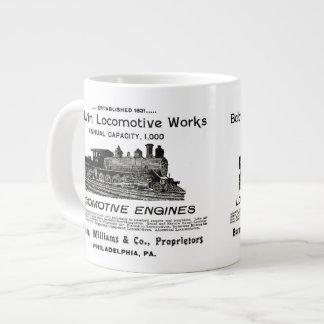 Baldwin Locomotive Works 1895 Jumbo Mug