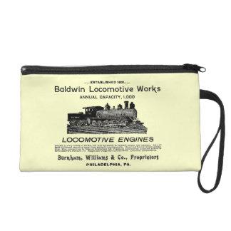 Baldwin Locomotive Works 1895 Wristlet Bag
