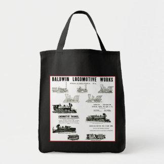 Baldwin Locomotive Works Grocery Tote Bag