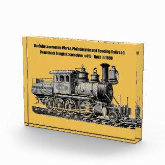 Baldwin Locomotive Works Camelback #415 Award