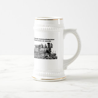 Baldwin Locomotive Works Camelback #415 Beer Stein