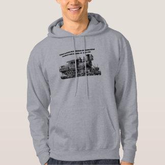 Baldwin Locomotive Works Camelback #415 Hoodie