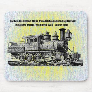 Baldwin Locomotive Works Camelback #415 Mousepad