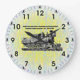 Baldwin Locomotive Works Camelback #415 Wall Clock