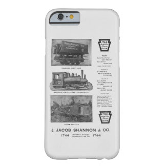 Baldwin Locomotive Works Contractor's Locomotives Barely There iPhone 6 Case