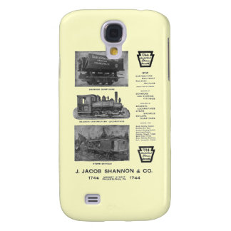 Baldwin Locomotive Works Contractor's Locomotives Samsung S4 Case