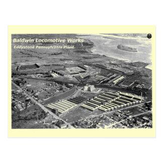 Baldwin Locomotive Works,Eddystone Pennsylvania Postcard