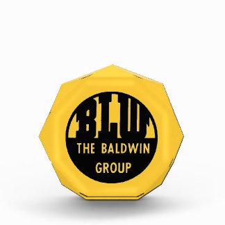 Baldwin Locomotive Works Logo Acrylic Acrylic Award