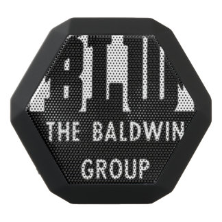 Baldwin Locomotive Works Logo Black Bluetooth Speaker