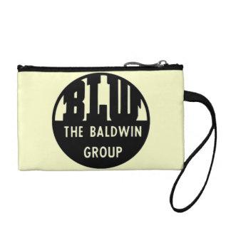 Baldwin Locomotive Works Logo Key Coin Clutch