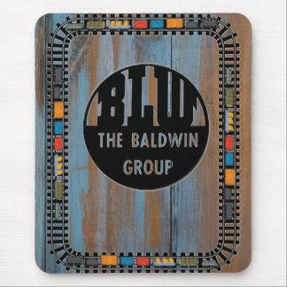 Baldwin Locomotive Works Logo Special Mousepad