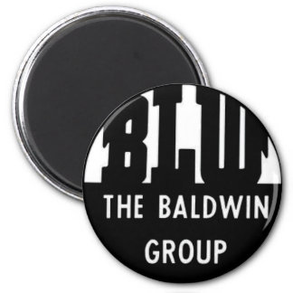 Baldwin Locomotive Works Magnet